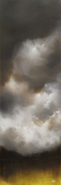 tim gagnon misty forest landscape acrylic on canvas