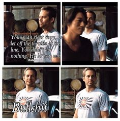 The race... Another funny scene. Fast 5