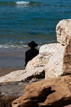Prayers at the Beach of Tel Aviv