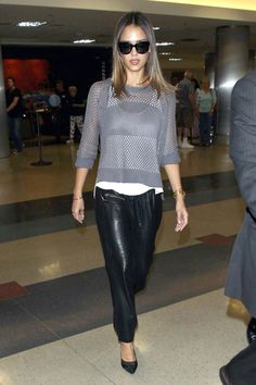 The Hide Life: The Best Celebrity Leather Looks