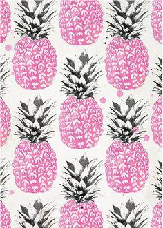laine Fraser - Pink Pineapples