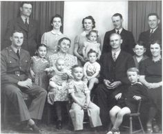 Our family during WWII.