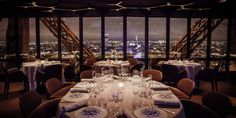 Best Rooftop Restaurants and Bars Around the World - Le Jules Verne, Paris: