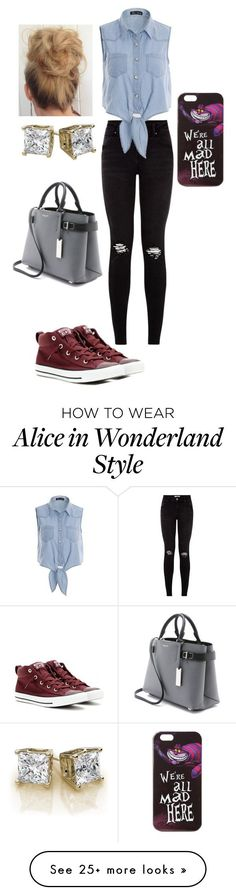 """Untitled #45"" by crashwegener on Polyvore featuring Converse, Michael Kors and Disney"
