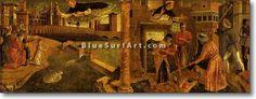 Miracles of St. Vincent Ferrar - £124.99 : Canvas Art, Oil Painting Reproduction, Art Commission, Pop Art, Canvas Painting