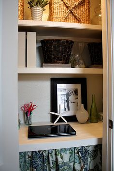 Small Office Space Small Desk Ideas On Pinterest