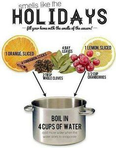 Holiday scent