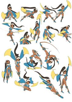 Native American Boy or Man - Male Pose Sheet - Human Poses - Different Angles - Perspective - Drawing Reference Character Design Cartoon, Character Design References, Character Drawing, Character Design Inspiration, Character Concept, Concept Art, Game Character, Action Pose Reference, Animation Reference
