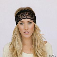 2017 Spring New Arrival Yoga Lace Bowknot Hairband Headband Headwear Tiara Hair Band Hair Accessories #Affiliate