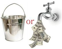 Would you rather Haul Buckets or Build a Pipe Line?