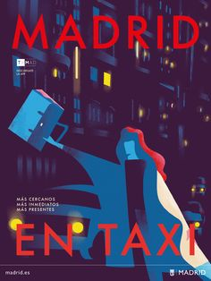 Madrid by taxi