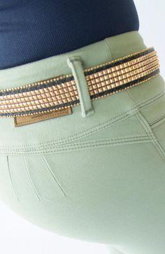 JEAN COLOR VERDE OLIVA Colored Jeans, Push Up, Denim Jeans, Fashion, Olive Green, Texans, Feminine, Chic, Women