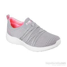 Easy wearing comfort meets sporty style in the SKECHERS Burst - Very Daring  shoe. Soft mesh fabric upper in a slip on athletic fashion comfort sneaker  with ...