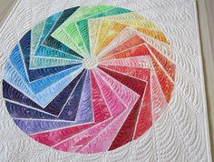Quick and Easy Wall hanging quilt pattern modern by GetaGrama