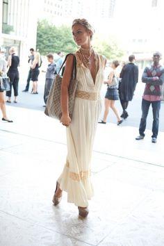 Boho/Slip Dress.
