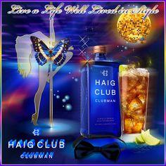 Refined style whiskey Haig Club Clubman