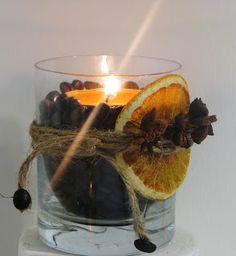 Joanna Wajdenfeld DiY lampiony, świeczniki z kawy, aromatyczne ozdoby do domu i na prezent dla babci i dziadka do wykonania nawet z maluchami.