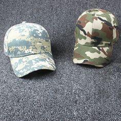 Adjustable Fishing / Hunting Camo Cap