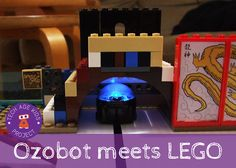 Ozobot meets LEGO - Bringing Blocks to Life with a Mini Robot coding design thinking lego ozobot project