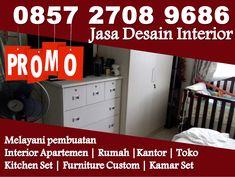 Apartment Interior Design, Modern Interior Design, Kitchen Interior, Restaurant Interior Design, Kitchen Design, Design Set, Design Blog, Jakarta, Type 45
