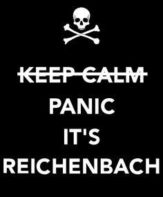 It's Reichenbach! #Sherlock