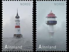 Noruega edición sello Faro III se publicó en 2012