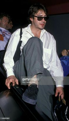 attends Vote Voter Registration Campaign on October 1988 at the Los Angeles International Airport in Los Angeles, California. Get premium, high resolution news photos at Getty Images Robert Downey Jr Young, Robert Downey Jnr, Marvel Tony Stark, I Robert, Super Secret, Downey Junior, Celebrity Crush, Pretty Boys, Actors & Actresses