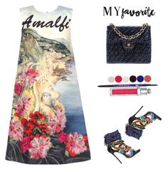 """""""#myfavorite"""" by rockingmother ❤ liked on Polyvore featuring Dsquared2, Dolce&Gabbana, Chanel, Urban Decay, Christian Dior, Nails Inc. and myfavorite"""