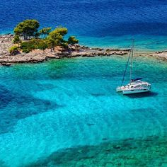 Sikirica island, croatia