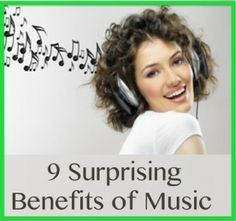 9 Surprising benefits of Music
