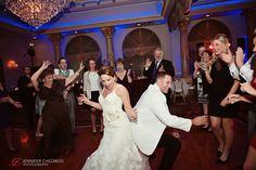Jennifer Childress Photography | Lucien's Manor | Wedding | Berlin Township, NJ | Military Wedding | Marine Wedding | Bride and Groom | Dance Floor www.jennchildress.com