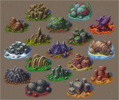 Just vidya games and mangos — pixelartus: Pixel Art Rock Formations Pixel. 2d Game Art, Video Game Art, Concept Art Tutorial, Game Textures, Isometric Art, Arte Dc Comics, Environment Concept Art, Environmental Art, Game Design