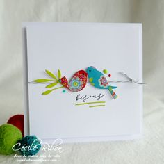 Hand Games, Challenge, Bird Cards, Animal Cards, Happy Tuesday, Happy Colors, Just Love, Stampin Up, Dots