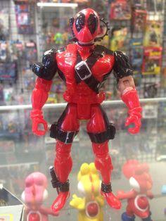 Toy Biz X-Force Unmasked Deadpool