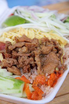 Khao Kluk Kaphi (Shrimp Paste rice Salad) ข้าวคลุกกะปิ by Migration Mark, via Flickr