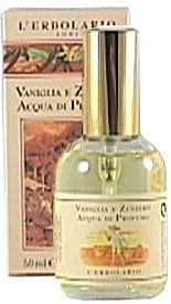 Vanilla & Ginger L`Erbolario - A fresh spicy, vanilla & ginger scent perfect for winter.