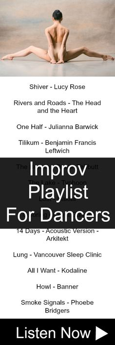 More improv songs for dancers...