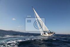Fototapeta żeglarstwo na adriatyku - adria • PIXERS.pl