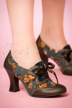 Ruby Shoo Daisy Bootie Olive 430 49 21422 model 17082017 004W