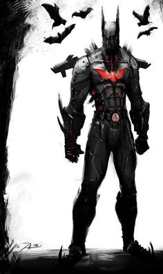 Batman Beyond | #comics this is a very cool depiction of him.