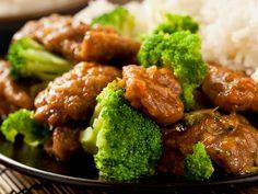 Asiatisch angehauchtes Rindfleisch mit