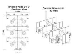 Cubicle Layout Plans Space Plans