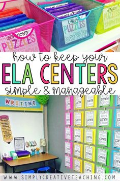 Learn how to get your reading centers ready for the year! These ideas will help teachers plan and manage literacy centers. Ideas for ELA centers including the listen to reading center (listening center), read with a partner (buddy reading), word work center, and the work on writing center. These activities will help teachers at the beginning of the year establish expectations for literacy centers and rotations to maximize learning.