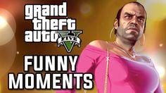 GTA 5 Awesome Funny Moments #GrandTheftAutoV #GTAV #GTA5 #GrandTheftAuto #GTA #GTAOnline #GrandTheftAuto5 #PS4 #games