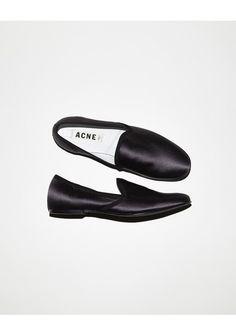 Acne Studios / Khol Satin Slipper
