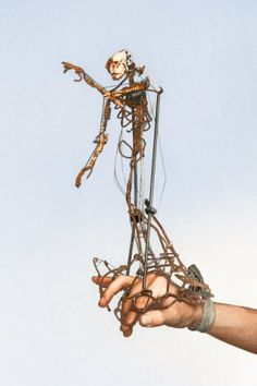 Francis the Hand Actuated Puppet