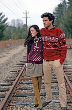 Christmas sweaters :) cute xmas card