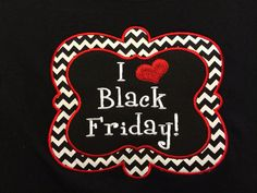 Hands Down the Cutest Black Friday Shirt on Etsy, $25.00