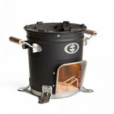 Rocket stove 5000 met invoerrekje   envirofit stoves   Het Buiten