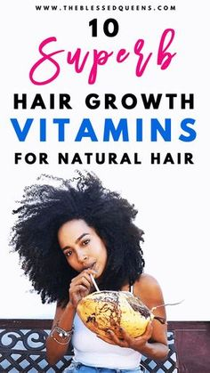 10 Best hair growth vitamins for natural hair Explosive Grow.- 10 Best hair growth vitamins for natural hair Explosive Growth! 10 Superb hair growth vitamins for natural hair Explosive Growth! Long Natural Hair, Natural Hair Growth, Thick Hair, Natural Curls, Hair Growth Tips, Hair Care Tips, Color Ombre Hair, Best Hair Growth Vitamins, Natural Vitamins